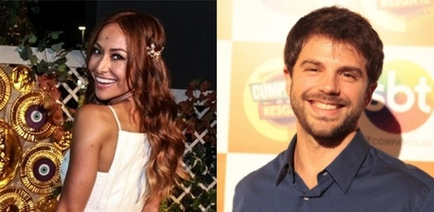 Sabrina Sato e Duda Nagle estão se conhecendo melhor - Marcello Sá Barreto/Ag.News e Leonardo Nones/SBT