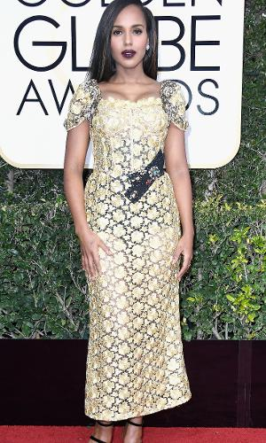 Globo de Ouro 2017: Kerry Washington