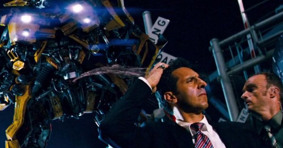 Cena de ?Transformers? (2007), de Michael Bay