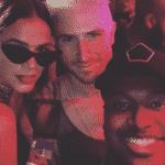 Bruna Marquezine e Thiaguinho com Nicholas Petricca - Reprodução/Instagram/thbarbosa