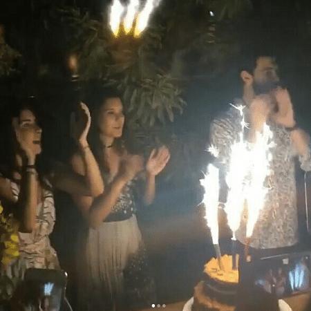 Laura, Beatriz e Vinícius comemoram aniversário - Reprodução/Instagram/viniciusbonemer