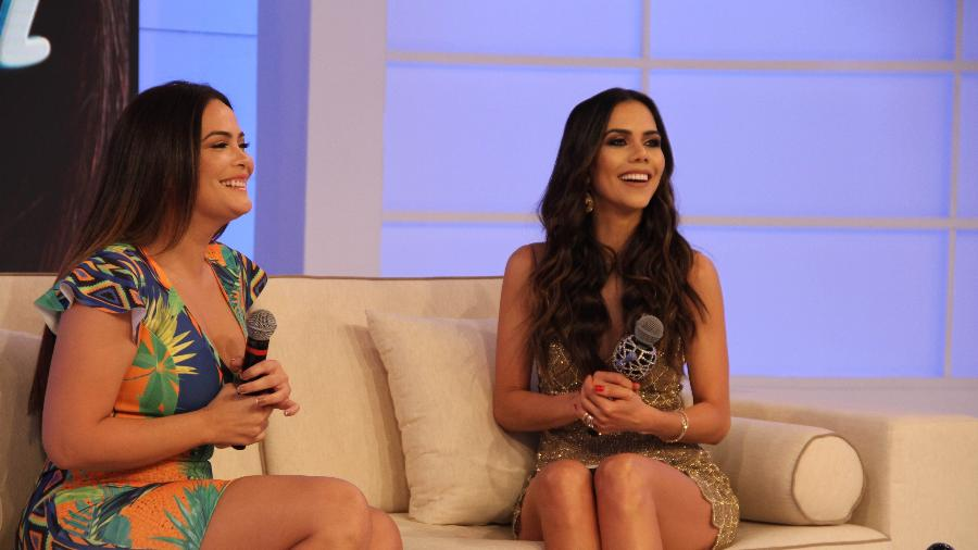 """Geisy Arruda concedeu uma entrevista para Daniela Albuquerque, do programa """"Sensacional"""" - Divulgação/RedeTV!"""