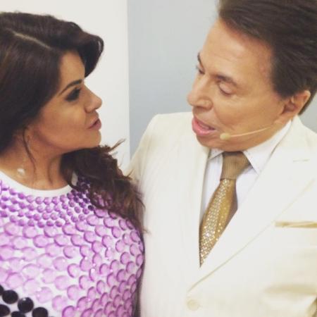 Mara Maravilha e Silvio Santos - Reprodução/Instagram