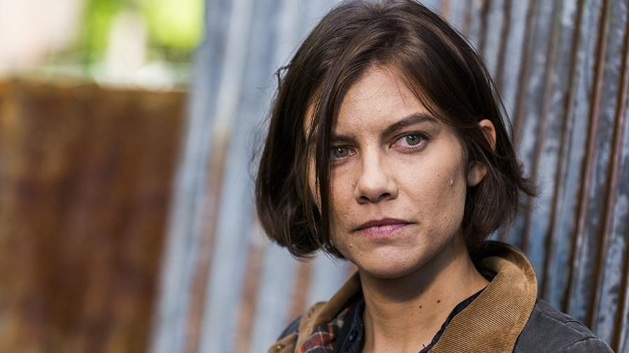 "A atriz Lauren Cohan, de ""The Walking Dead"" - Reprodução"
