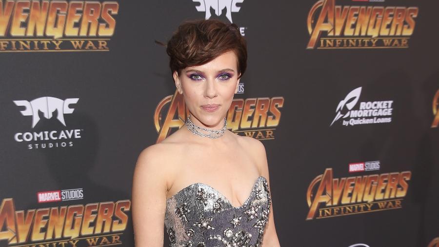 A atriz americana Scarlett Johansson, que recebeu US$ 40,5 milhões brutos ao longo do último ano - Getty Images