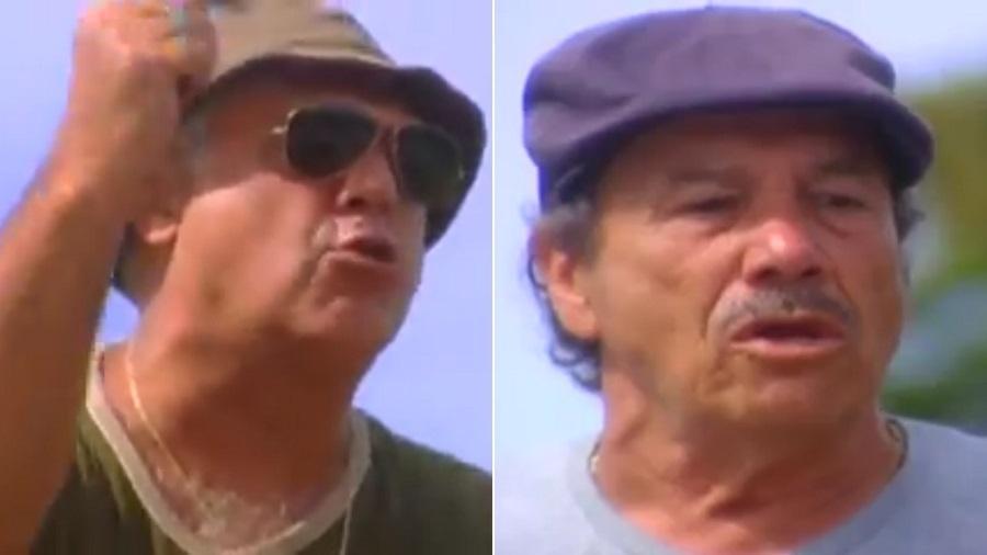 """Pedro (Antonio Fagundes) e Bino (Stênio Garcia) em """"Carga Pesada"""" - Reprodução/TV Globo"""