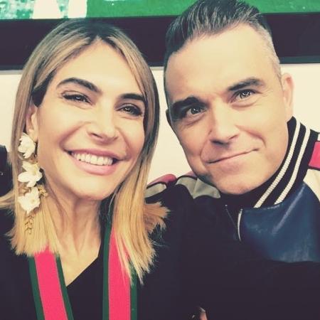 Ayda Field, atriz, é mulher de Robbie Williams - Reprodução/Instagram