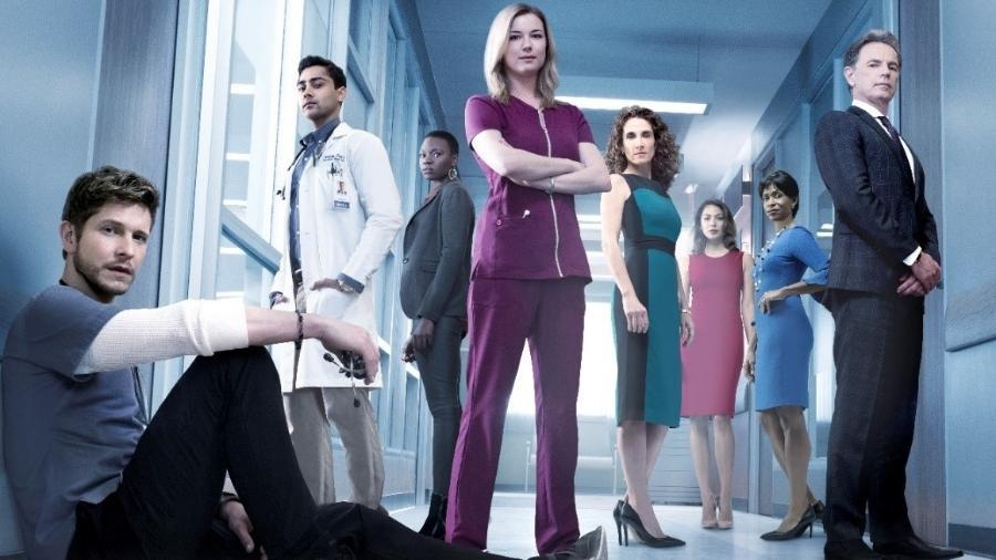 """Elenco da série """"The Resident"""", da Fox - Divulgação"""