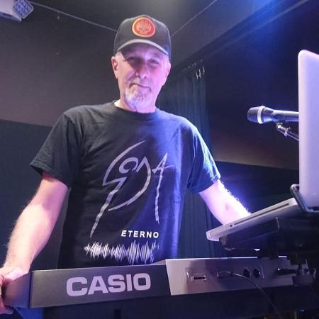 Daniel Sais tocou teclado com o grupo Soda Stereo - Instagram/Reprodução
