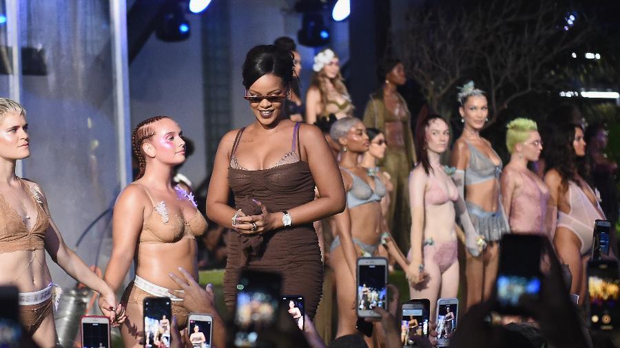 O desfile de Rihanna na NYFW - Ilya S. Savenok/Getty Images for Savage X Fenty