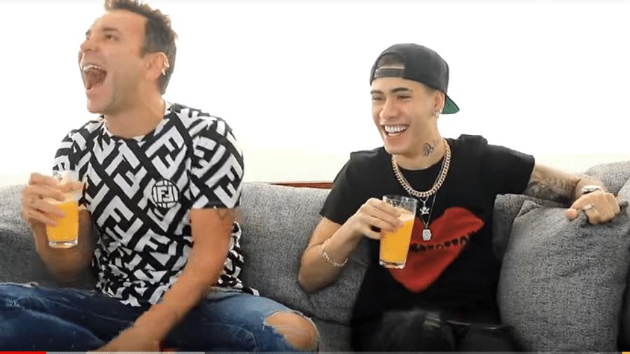 Matheus Mazzafera entrevista Kevinho - Reprodução/YouTube