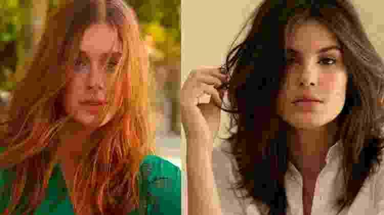Marina e Camila - Reprodução/Instagram - Reprodução/Instagram
