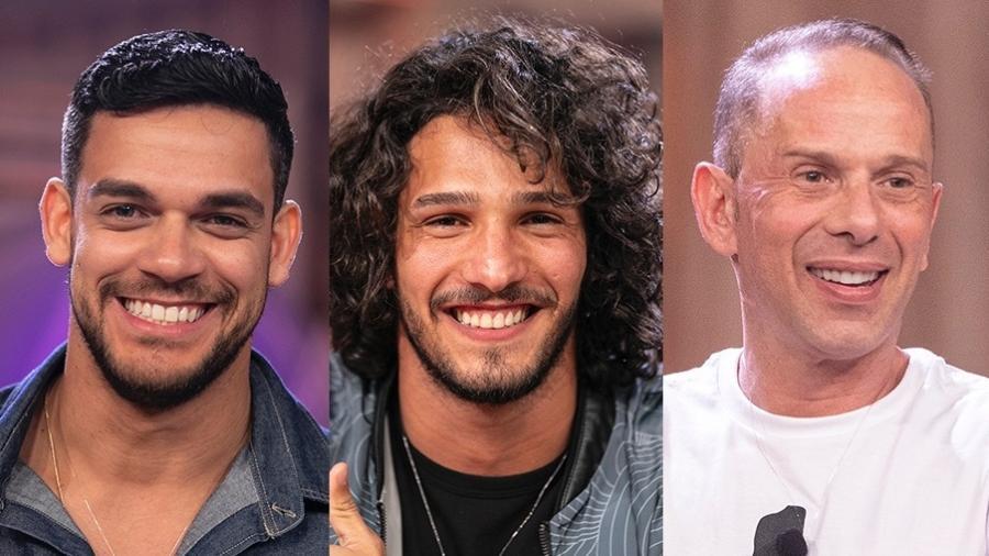 """Os três finalistas da décima edição de """"A Fazenda 10"""" - Montagem/Edu Moraes/Record TV"""