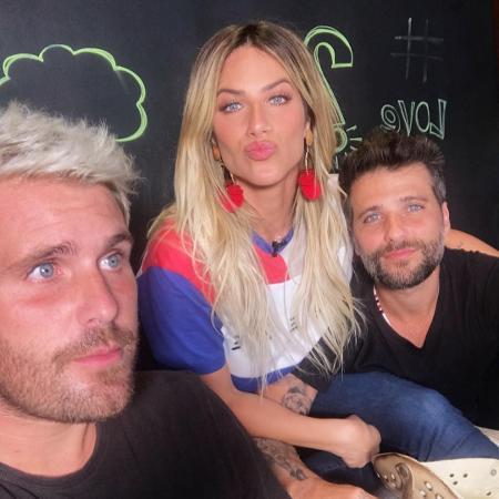 Thiago Gagliasso com o irmão Bruno e a cunhada Giovanna Ewbank - Reprodução/Instagram/@thiagogagliasso
