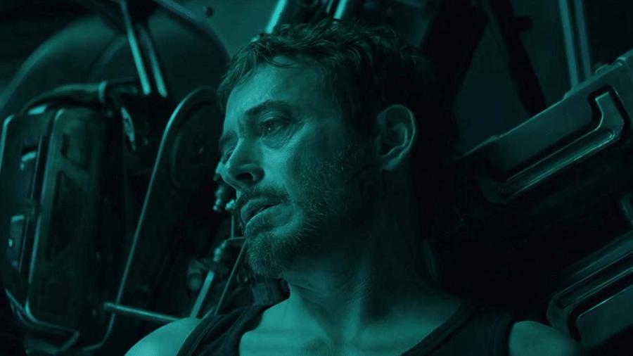 """Robert Downey Jr. em cena de """"Vingadores: Ultimato"""" - Reprodução"""