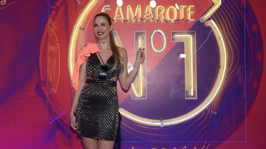 Luciana Gimenez no camarote CarnaUOL N1  - Selmy Yassuda / UOL
