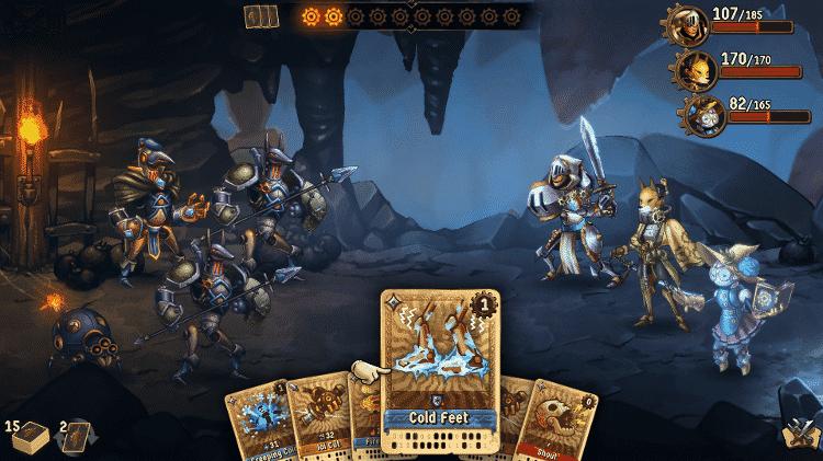 SteamWorld Quest - Combate - Divulgação - Divulgação