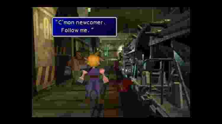 Final Fantasy VII - Imagem - Divulgação - Divulgação