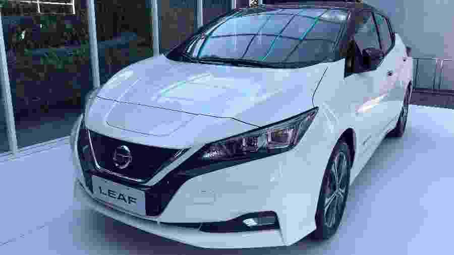 Nissan Leaf - Alessandro Reis/UOL