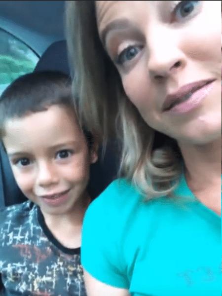 Luana Piovani com o filho mais velho, Dom - Reprodução/Instagram