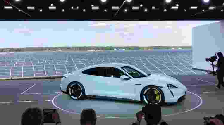 Porsche Taycan - Ricardo Ribeiro/Colaboração para o UOL - Ricardo Ribeiro/Colaboração para o UOL