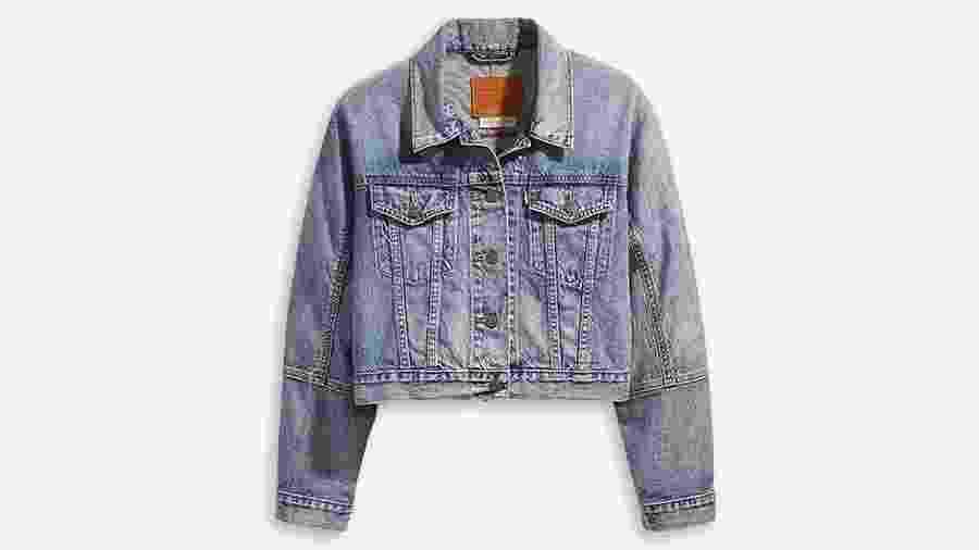 Jaqueta jeans curtinha estilo vintage da Levi´s. Preço: R$ 459,90 (www.levi.com.br) - Divulgação