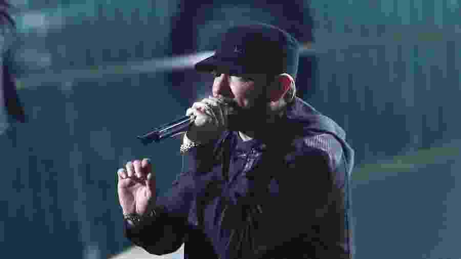 Eminem faz apresentação surpresa durante cerimônia do Oscar 2020 - REUTERS/Mario Anzuoni