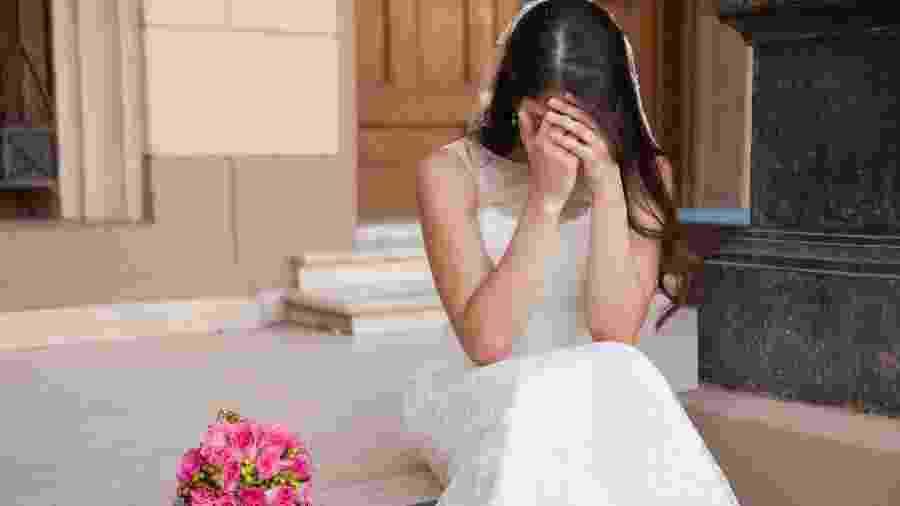 Noiva de Anapólis (GO) vai receber R$ 4 mil em indenização por vestido alugado que apertou demais - Getty Images/iStockphoto