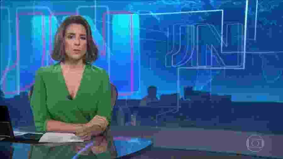 Luana Borba faz parte do rodízio de apresentadores do Jornal Nacional aos sábados - Reprodução/TV Globo