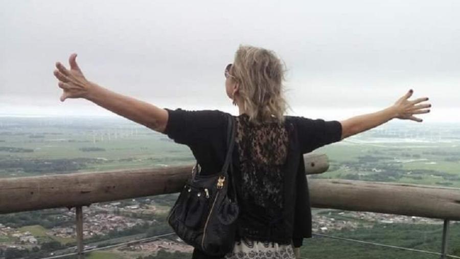 Andrea se libertou de um relacionamento abusivo após dez anos de casamento - Arquivo pessoal