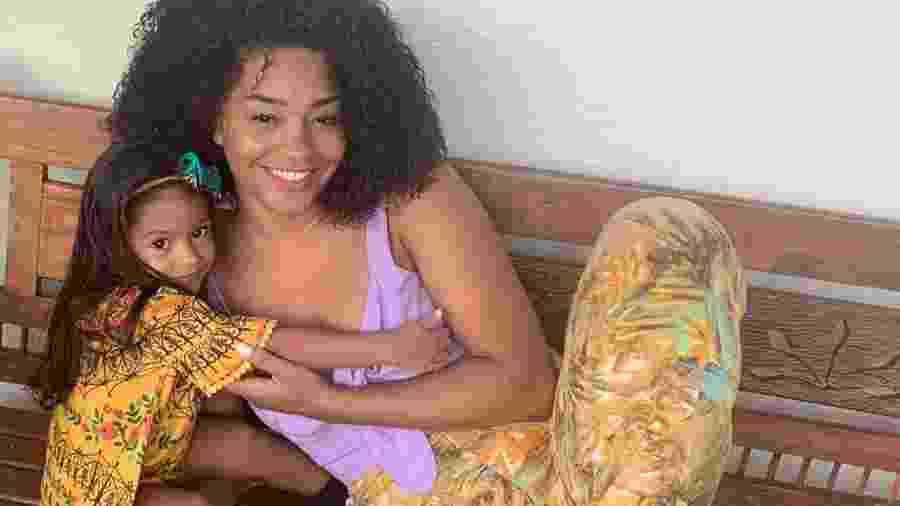 Juliana Alves posa com a filha, Yolanda, de dois anos - Reprodução/Instagram