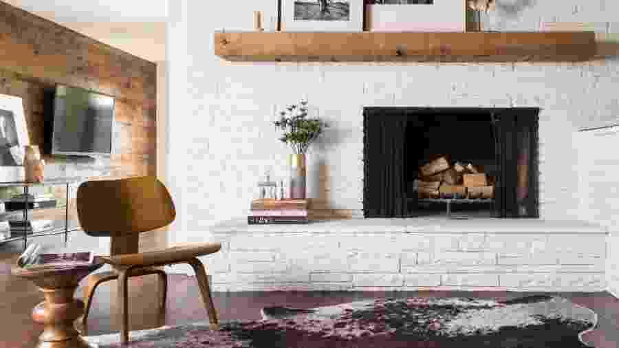 Tapete e as diferentes estampas e tecidos serão seus aliados na decoração - Reprodução/Pinterest