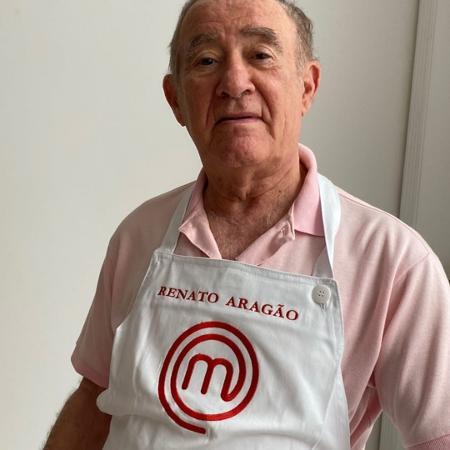 Renato Aragão ganha avental do MasterChef  - Reprodução / Instagram