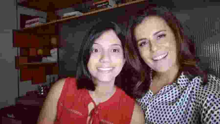 A jornalista Adriana Araújo está publicando um livro sobre a história de sua filha, Giovanna - Instagram/Adriana Araújo