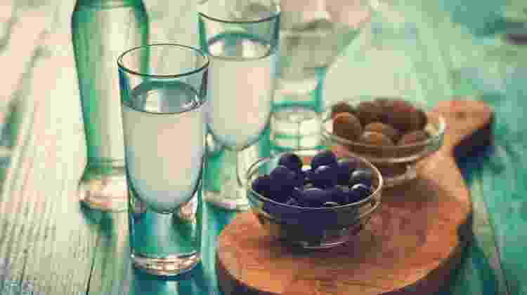 Ouzo - Getty Images - Getty Images