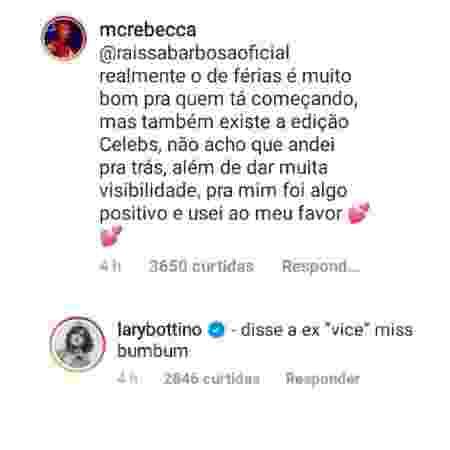 MC Rebecca - Reprodução/Twitter - Reprodução/Twitter