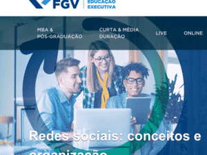 curso grátis FGV - Reprodução FGV - Reprodução FGV