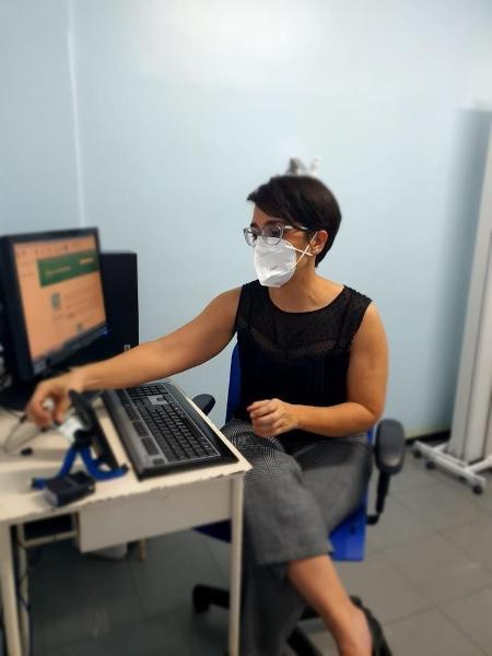 A ginecologista Helena Paro, da Universidade Federal de Uberlândia, está à frente do único serviço no país de interrupção autorizada de gravidez por telemedicina - Arquivo pessoal