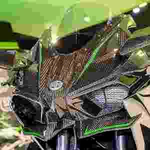 Kawasaki Ninja H2R no Salão Duas Rodas 2015 - Doni Castilho/Infomoto