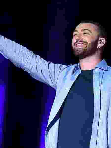 Sam Smith dará descanso para sua voz após susto em festival - Getty Images