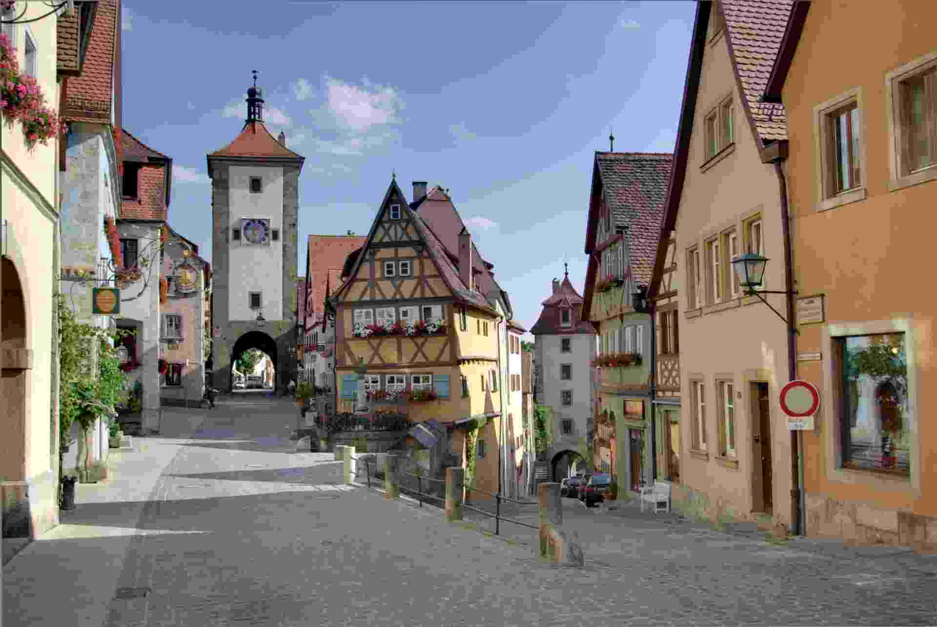 Rothenburg ob der Tauber, na Alemanha - Berthold Werner/Creative Commons