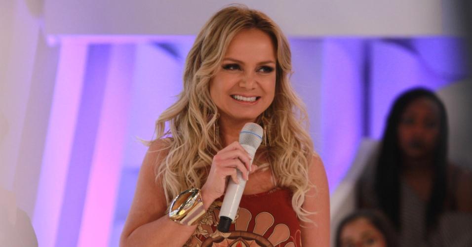 A apresentadora Eliana, do SBT