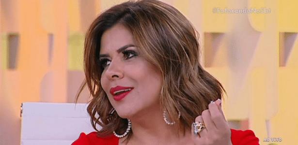 Mara faz comentário indiscreto sobre desejo da maternidade da cantora Neném - Reprodução/SBT.com.br