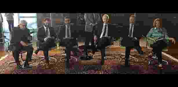 """""""Roda Viva"""", nesta segunda (14), entrevista o presidente Michel Temer, com as participações de  Ricardo Noblat (""""O Globo""""), Sergio D'Avila (""""Folha de S. Paulo""""), William Correa (TV Cultura), Augusto Nunes (TV Cultura), João Caminoto e Eliane Catanhede (""""Estadão"""")  - Divulgação - Divulgação"""