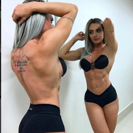 Juju Salimeni é criticada por corpo musculoso - Reprodução/Instagram/Juju Salimeni
