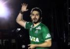 Luan Santana usa camisa da Chapecoense durante show em São Paulo - Cláudio Augusto/Brazil News