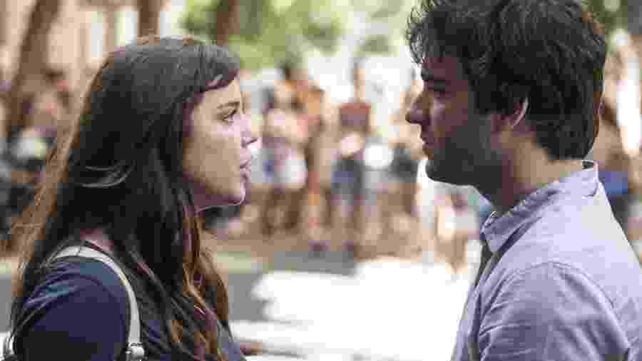"""Em """"A Lei do Amor"""", Tiago fica frente a frente com Marina e tem a certeza que é Isabela - Reprodução/Gshow"""