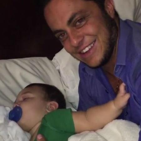 Thammy Miranda com o filho de Antonia Fontenelle - Reprodução/Instagram/thammymiranda