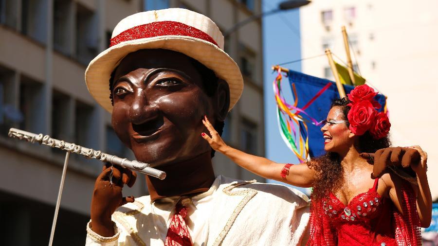 O bloco Orquestra Voadora foi formado a partir do encontro de músicos de Carnaval de rua do Rio - Marcelo de Jesus/UOL