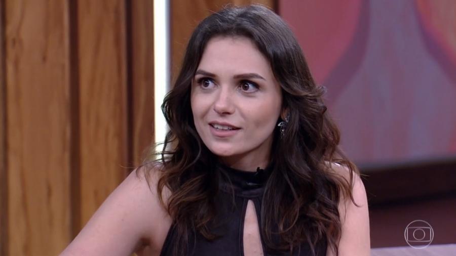 """Monica Iozzi no """"Conversa com Bial"""" - Reprodução/TV Globo"""